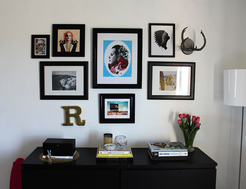 How To: GALLERY WALL | MOREMORE CREATIVE